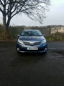2014 TOYOTA AVENSIS ICON BUSINESS 1998CC D-4d,MANUAL,5 DOOR ESTATE,124 BHP 32,000 WARRANTED MILES