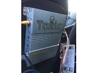 500w toxic amp and 1000w sub