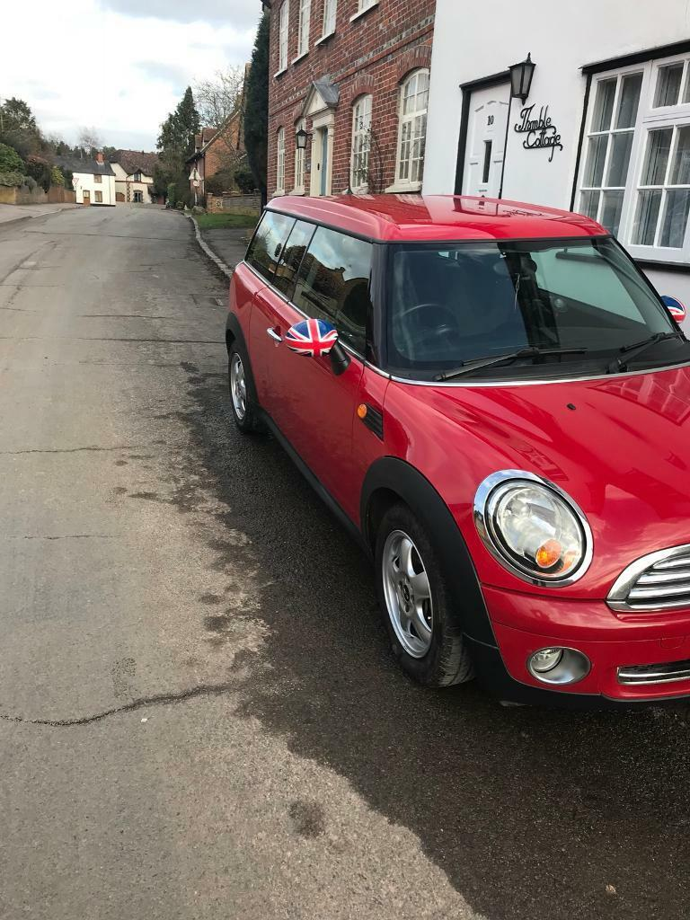 Lovely Red Mini One Clubman Estate 59 Plate In Wantage