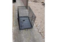 dog cage black
