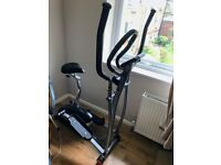 V-fit MCCT-1 Magnetic 2-in-1 Cycle Elliptical Cross Trainer Exercise Bike