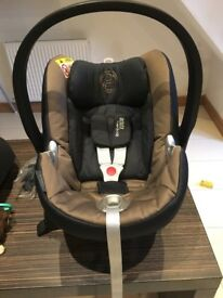 Cybex Aton Q car seat & Cybex Aton Base 2-fix