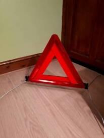 Folding Hazard Warning Triangle