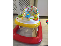 baby walker almost new from mothercare