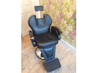 Barbers chair as new
