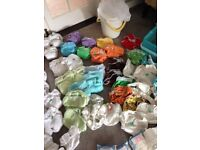 Massive Collection of TotsBots/Bambinex nappies/wraps plus all accessories