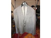 """Gant Linen Blazer In Grey Uk size 40"""" Chest Slim Fit Worn a couple of times."""