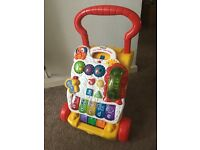 VTech first steps baby walker good as new