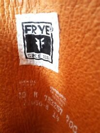 Women's Tan Leather Frye Boots (size 8 UK/41EU/10 US)