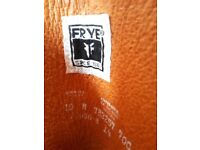 Tan Leather Frye Boots (size 8 UK/size 10 US)