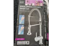 Spiral spring kitchen mixer tap Brand New Easy Home