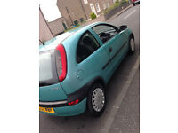 Vauxhall Corsa 1.0L Petrol with Manual Gearbox
