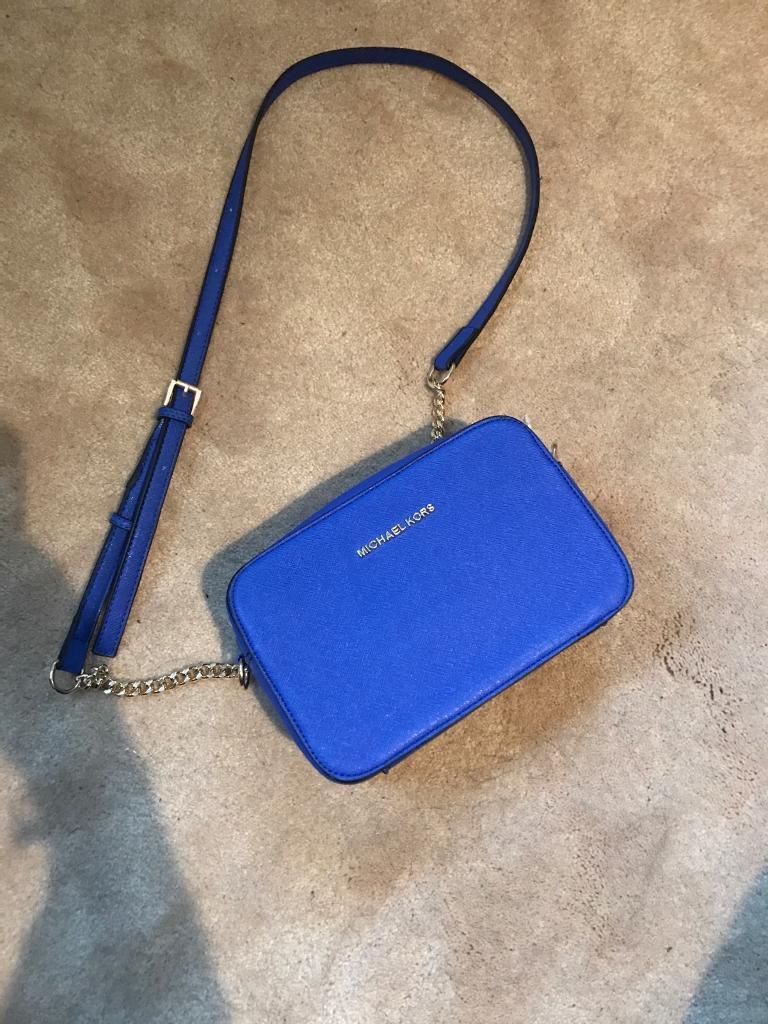 3100550d8eb0 Michael kors royal blue cross body bag. | in Loughborough ...