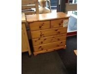 Solid Pine drawers - CHARITY