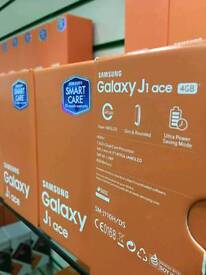 SAMSUNG J1 ACE NEW UNLOCKED TO ALL NETWORK WITH RECEIPT AND WARRANTY
