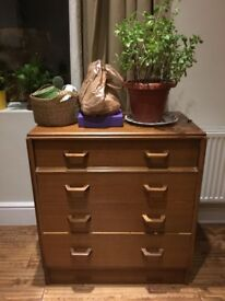 Vintage Danish Design Teak Mid-Century Chest of drawers by G-plan