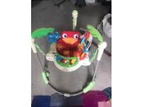Baby jungle bouncer