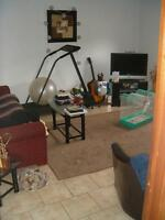 Avail. SEPT 1 Large 1 Bedroom UNB in Back yard $695