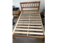 Queen size double bed frame