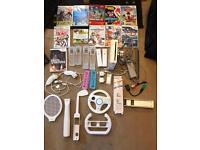 COMPLETE Nintendo Wii bundle. + extras!