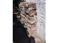 FREE approximately 100 recycled bricks.