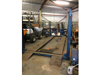Hydraulic workshop ramps for sale