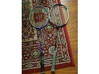 2 x Badminton Rackets