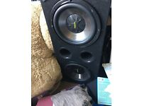 """Twin 12"""" sub / subwoofer"""