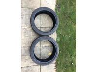 2x225/40/18 tyres