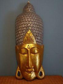 Large decorative Buddah head.