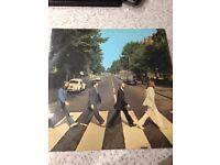 Beatles Abbey Road First Press Vinyl Record
