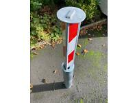 Removable security bollards