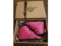 Brand New Pink Infant Size 3 Dr Martens