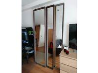 long wooden frame mirrors 215*55 cm