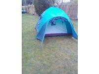 Vango 2/4 man dome tent