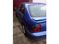 Rover 45 tdi. Mileage 122000. New clutch, camb belt done 120000. Good tyres.