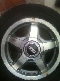 *** Set Of 4 BBS RD Design 5000 Alloy Wheels Mk1 / Mk2 Golf *** £100