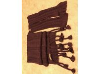 Scarf and matching gloves brand new - Urban Knitwear