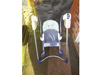 FISHER PRICE SMART STAGE 3 IN 1 ROCKER SWING
