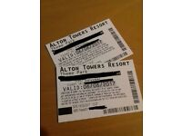 3 different date - 6 Alton towers tickets