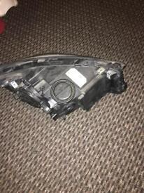 BMW 5 series GT left headlight