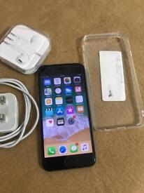 Apple iPhone 6 black 16gb Unlocked very good condition