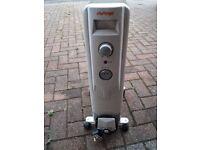 Challenge portable electric radiator/heater 1.5kw