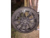 "BMW MV2 18"" Alloys With Tyres"