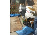 Moped Scooter Motorcycle Spares or Repair Project