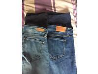 Maternity jeans (petite length)