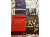 English books- ideal for English language undergraduate