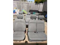 VW T4 caravelle seats x5 (1 being a front double)
