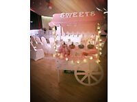 Beautiful Wooden Sweet Cart Wedding Birthdays Baby Shower Christening Events Party Cake Stand