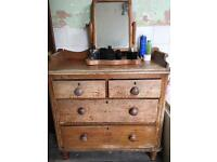 Vintage Chest Of Draws solid wood